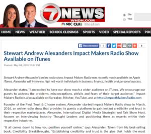 Stewart Andrew Alexanders In the Media